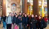Échange entre Albert de Mun Paris et le lycée Sagrada Familia d'Urguell
