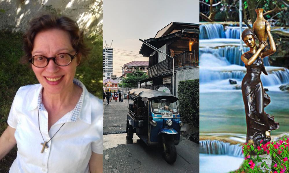 Pascale Floucaud, infirmière à Albert de Mun, part en mission en Thaïlande